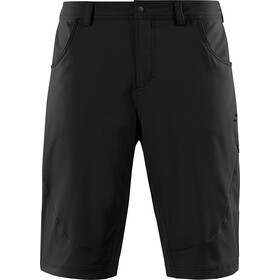 SQUARE Active Baggy Shorts Herren inkl. Innenhose black